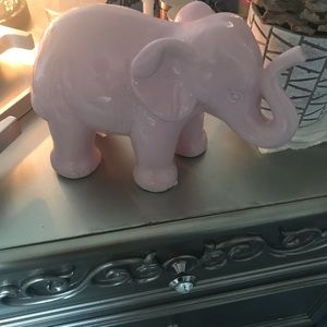 Glass elephant for decoration